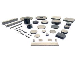 1-3型压电复合材料(切割填充)